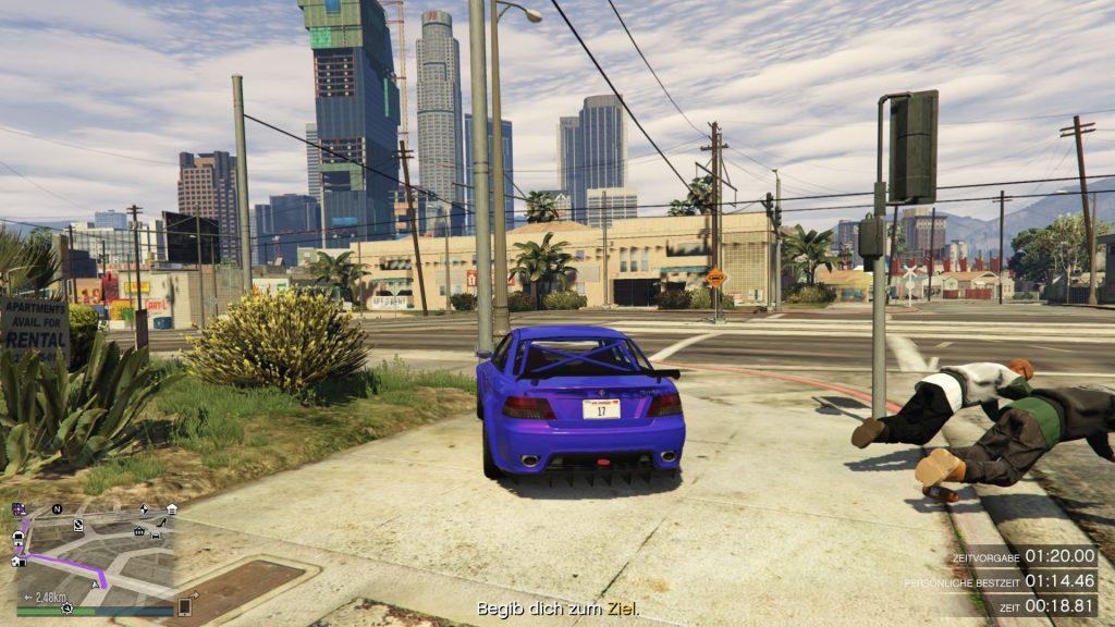 GTA Online Grove Street Abkürzung
