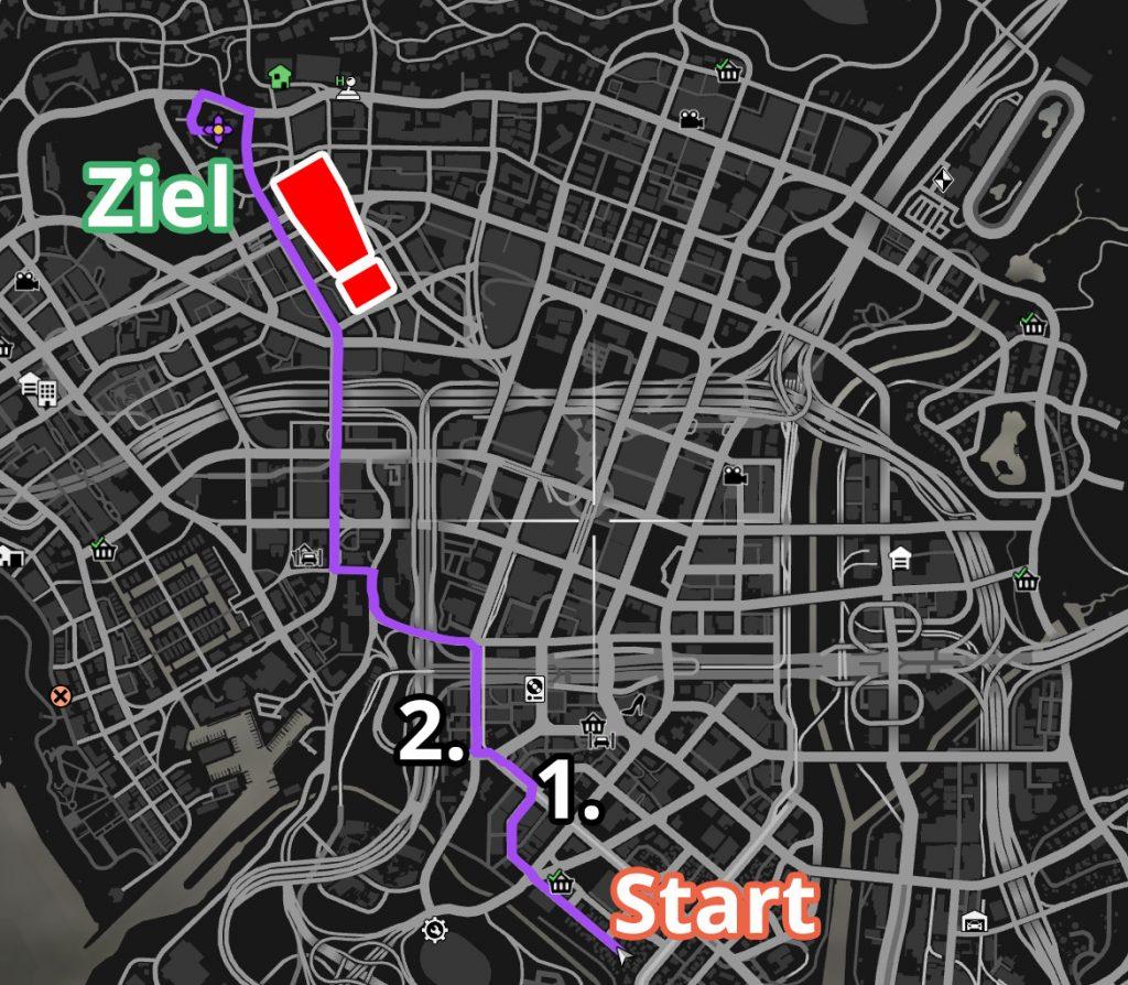 GTA Online Grove Street Strecke