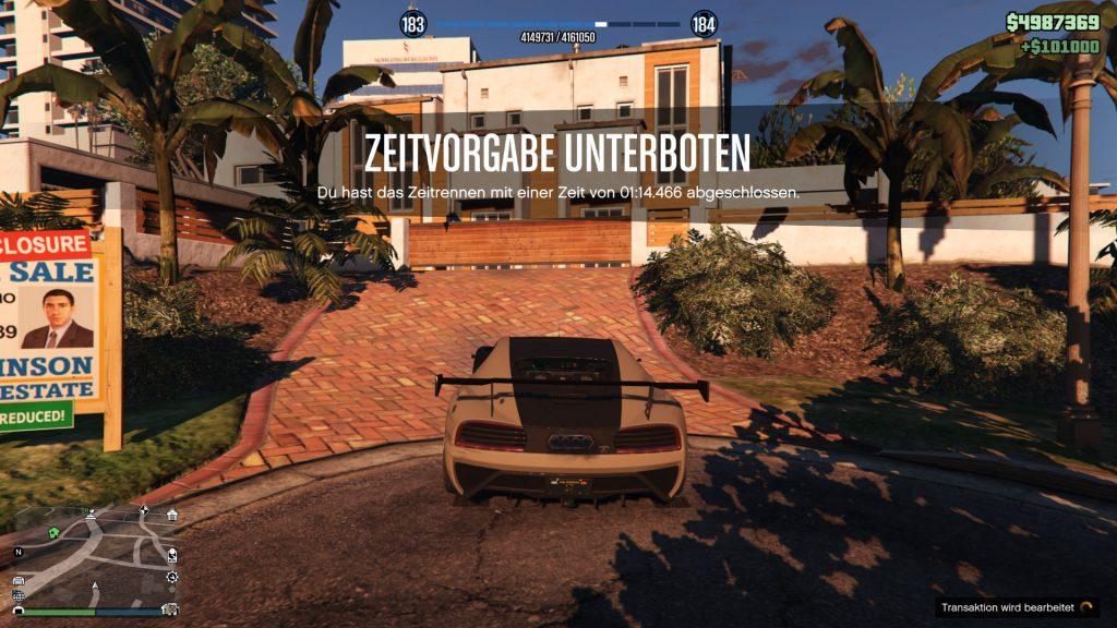 GTA Online Grove Street Ziel Gewonnen