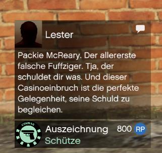 GTA Online Packie McReary Freigeschaltet