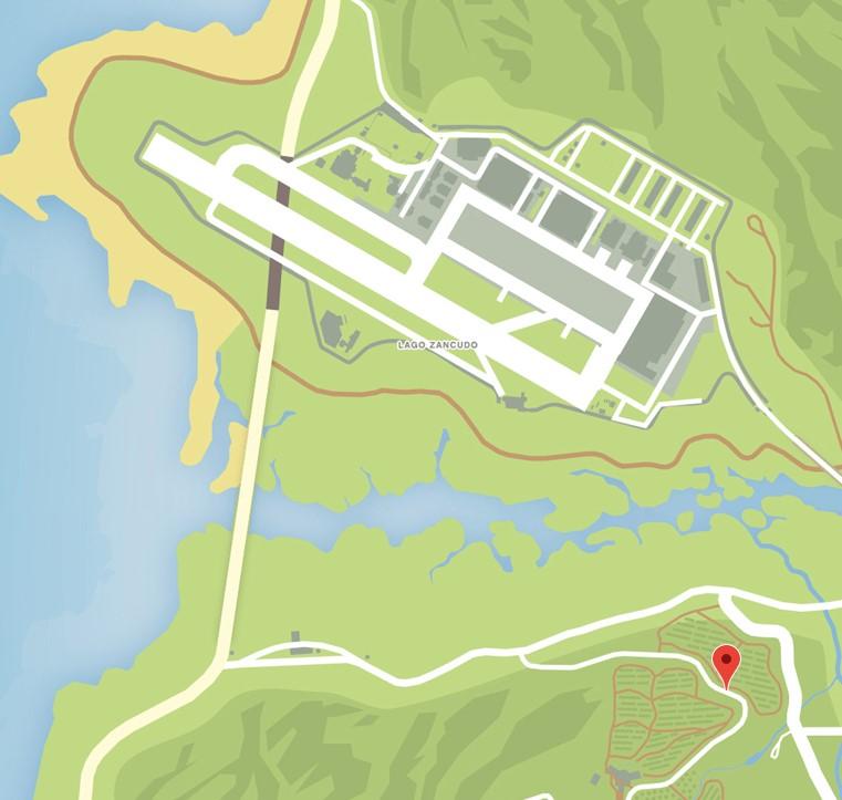 GTA Online Patrick McReary Location