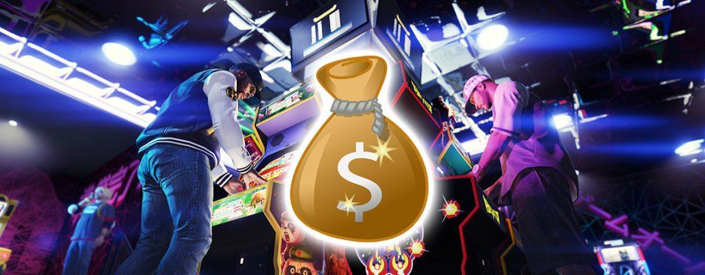 GTA Online Spielhalle Geld Titel