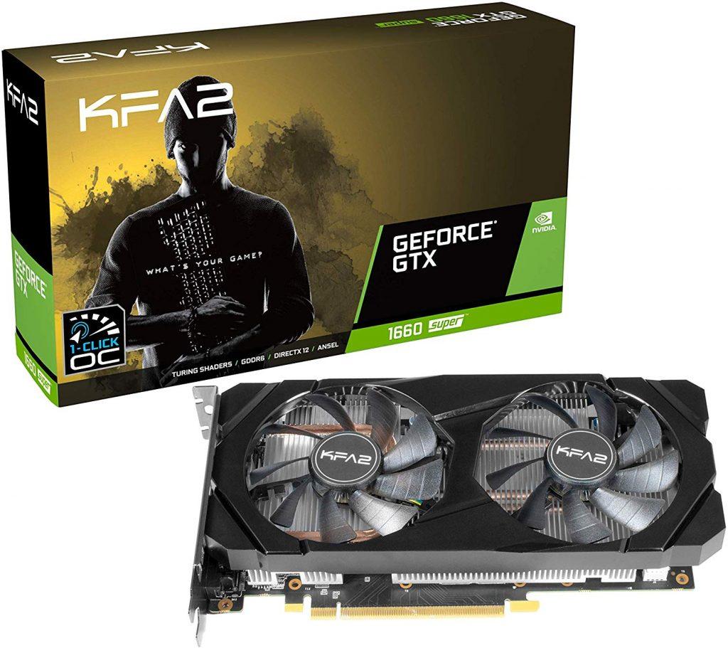 GTX 1660 Grafikkarte von Nvidia