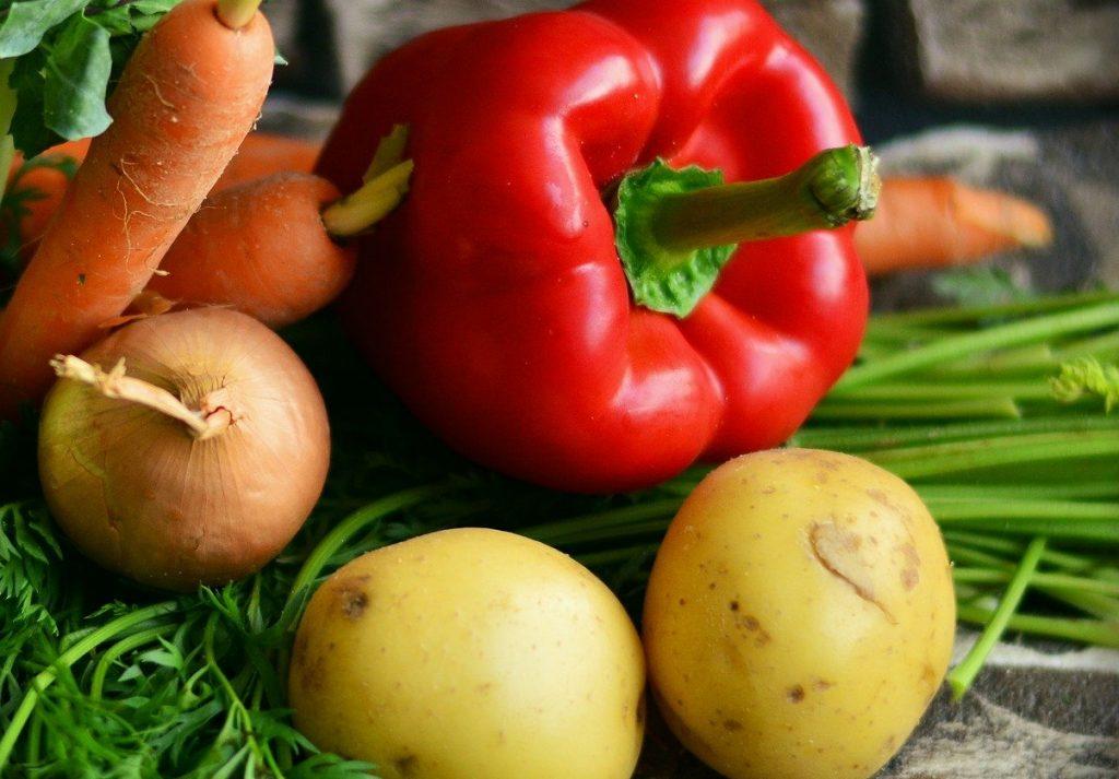 Gemüse für Eintopf