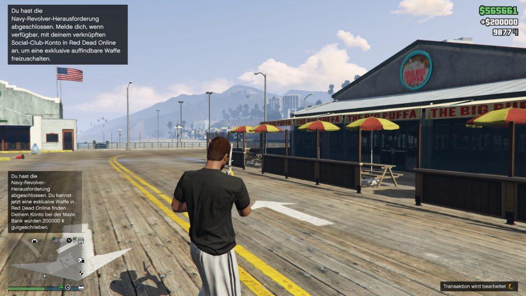 Gta Online 50 Kills Navy Revolver geschafft