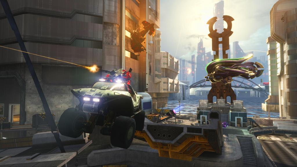 Halo Reach Screenshot Fahrzeug