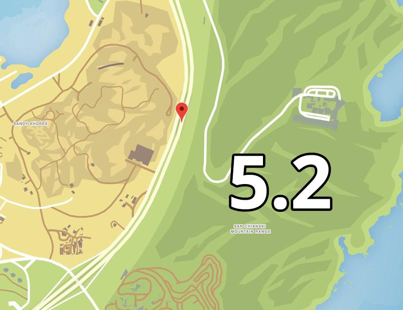 GTA Online Navy Revolver Hinweis 5 Ort 2 Sandy Shores2
