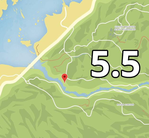 Hinweis 5 Ort 5 Raton Canyon5