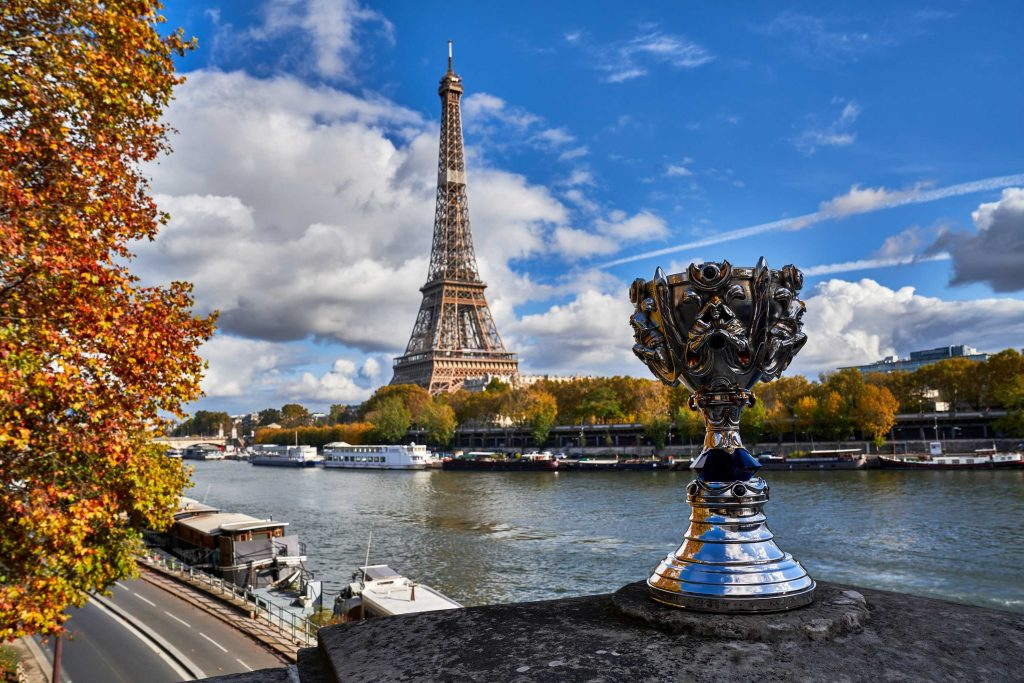 LoL worlds 2019 Paris
