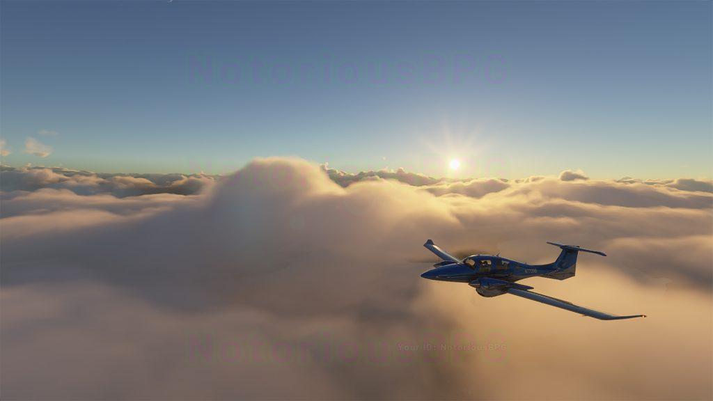 Microsoft Flight Simulator 2020 Wolken