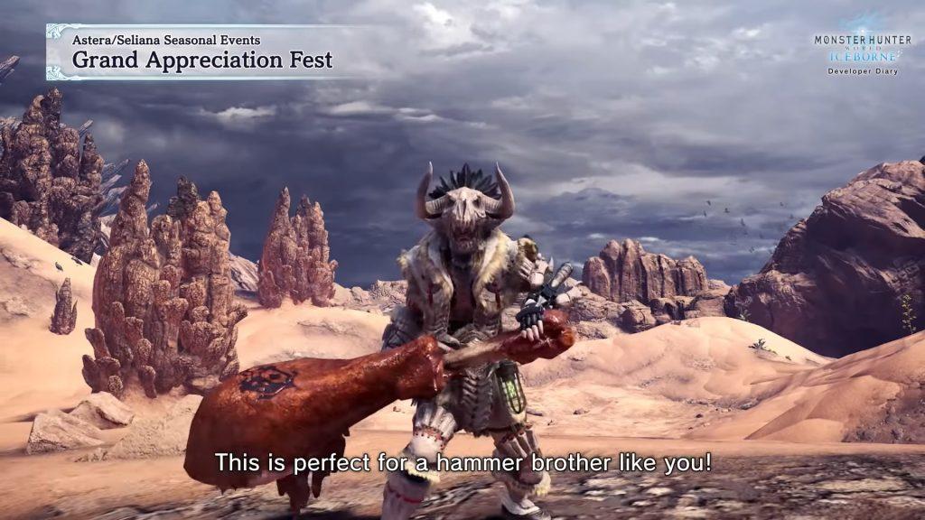 Monster Hunter World Event Hammer