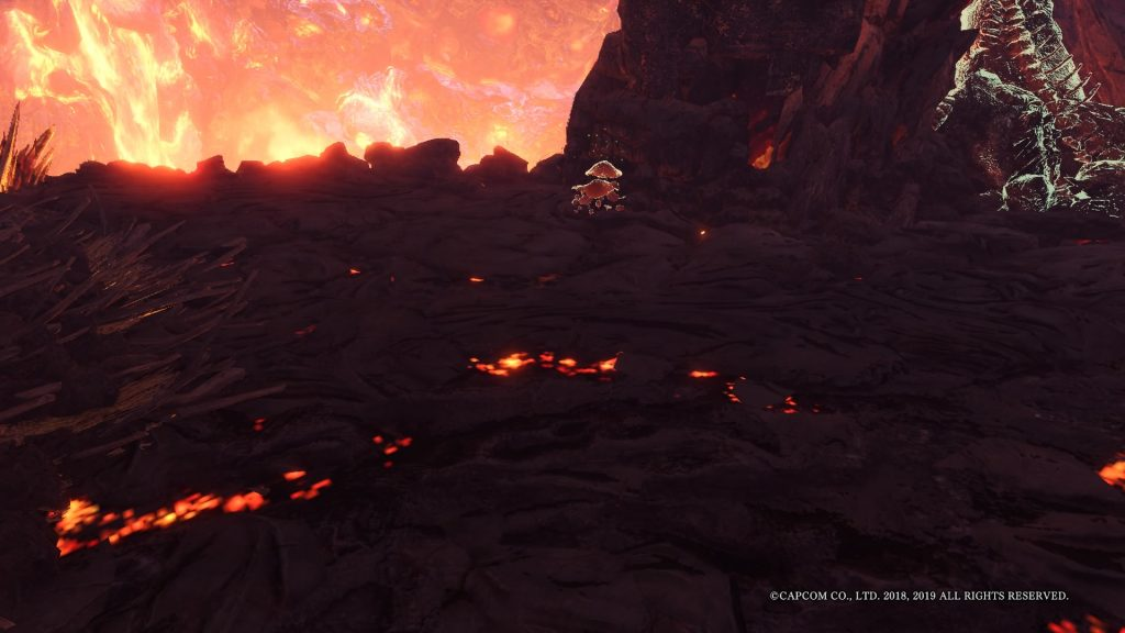 Monster Hunter World Mauli Vulkanbiom