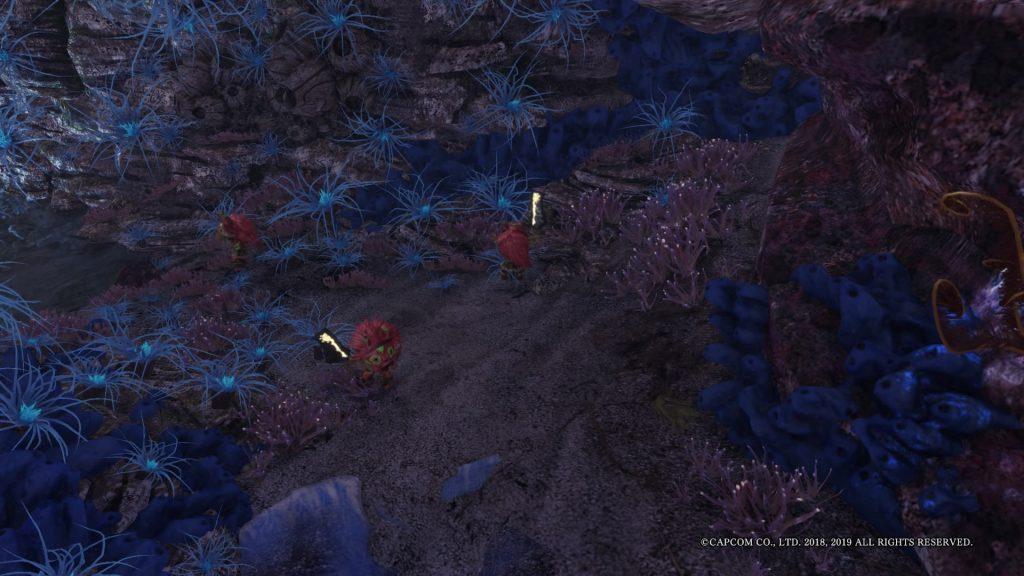 Monster Hunter World Mauli Korallenbiom