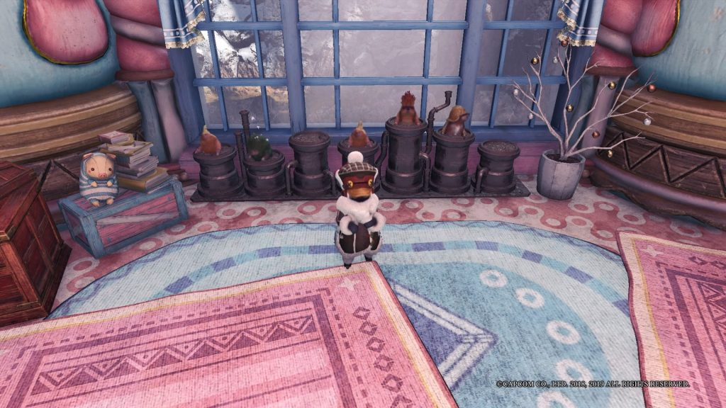 Monster Hunter World Mauli eigener Raum
