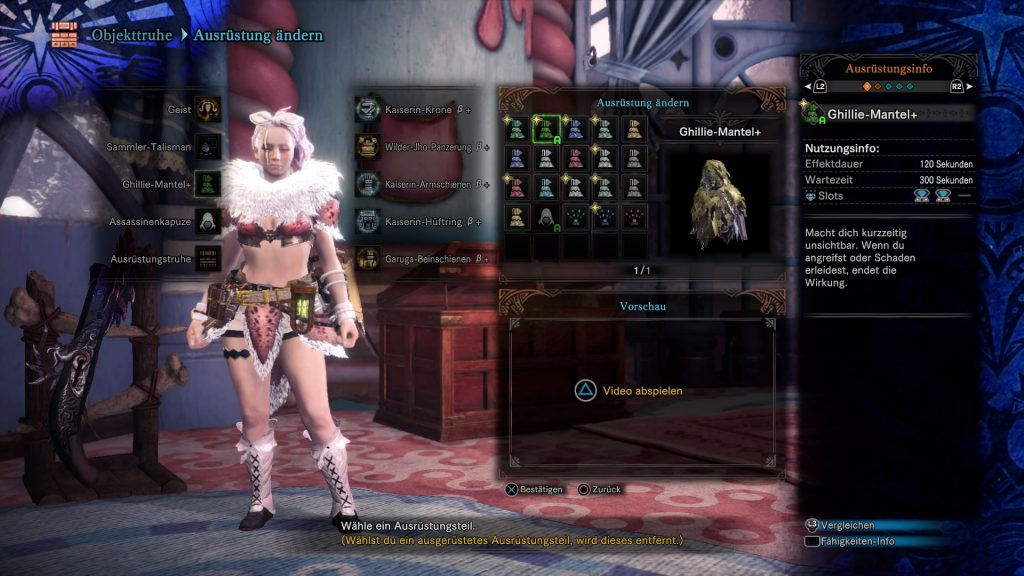 Monster Hunter World Mauli Guide Ghilli-Mantel