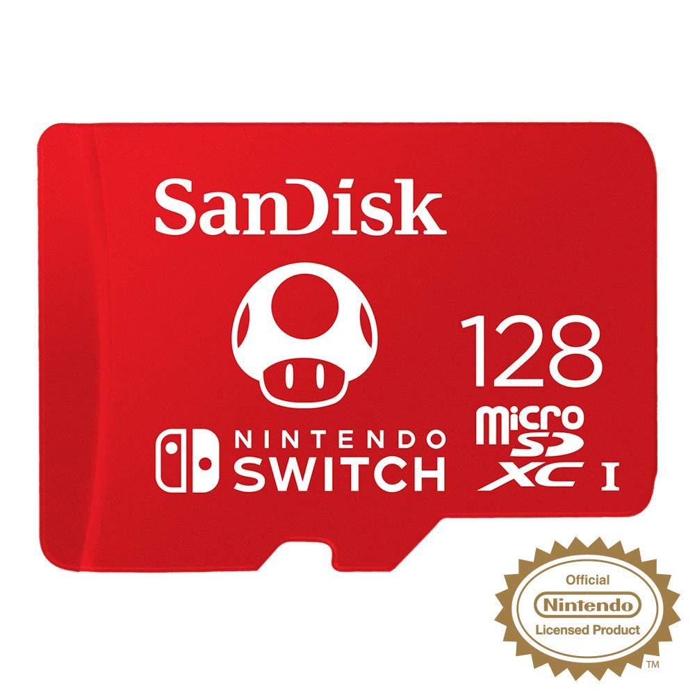 Speicherkarte für die Nintendo Switch, offiziell lizensiertes Produkt