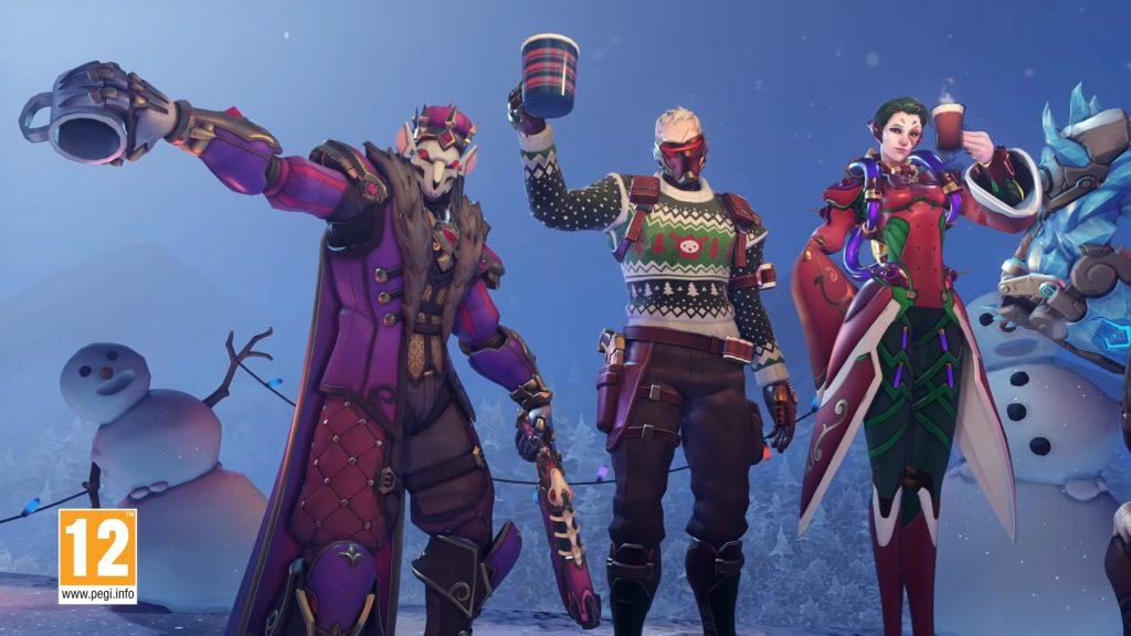 Overwatch Winterwunderland Skins 1