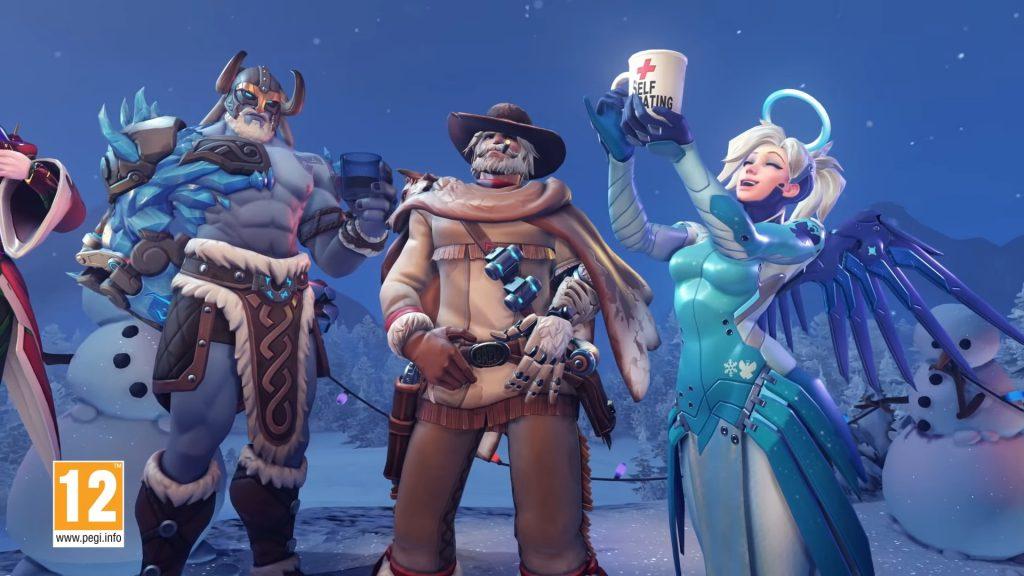 Overwatch Winterwunderland Skins 2