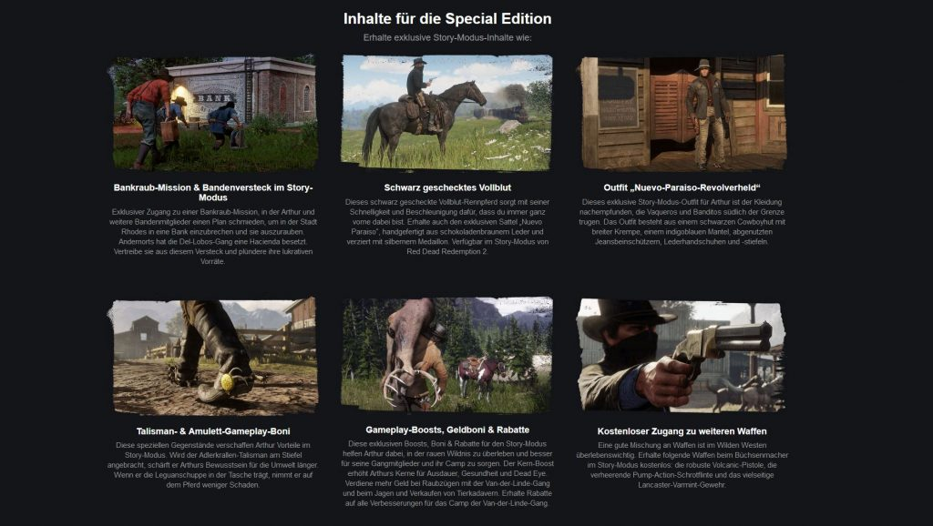 RDR 2 Special Edition Steam PC