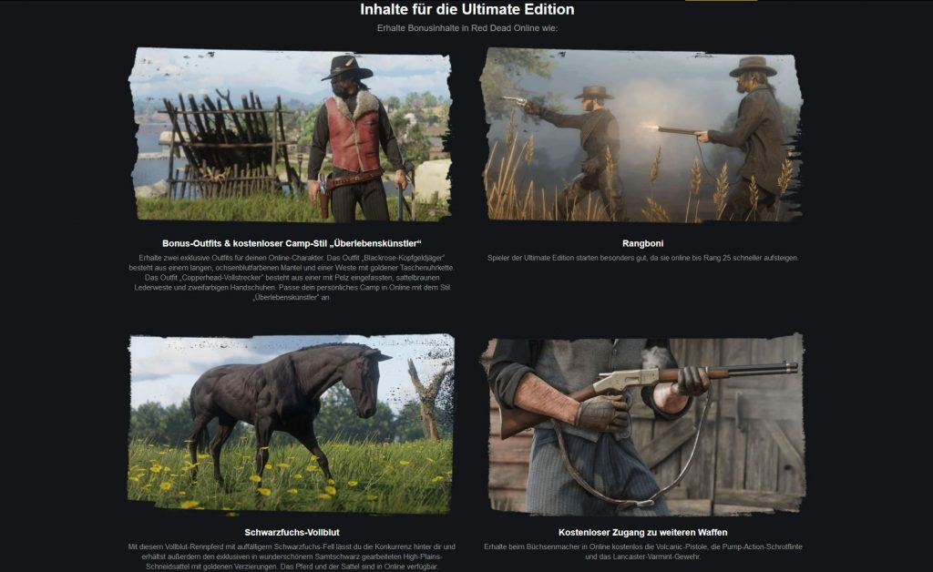 RDR 2 Ultimate Edition Steam PC