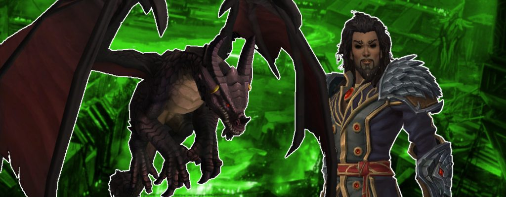 WoW Dragon Wrathion title 1140x445