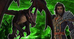 WoW: Erste Cutscene aus Patch 8.3 zeigt schwarzen Drachen Furorion in Aktion