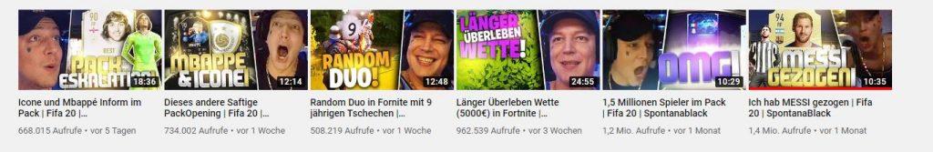 YouTube-SpontanaBlack