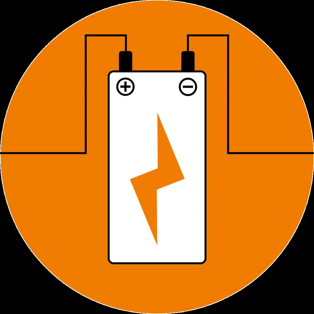 Akku-Batterie-Laden