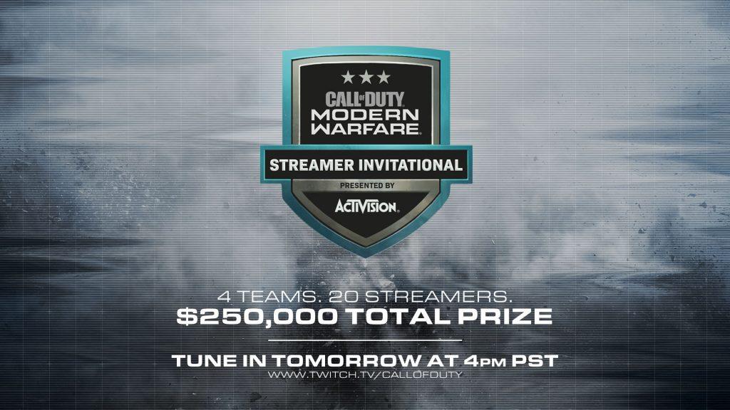 cod modern warfare streamer event