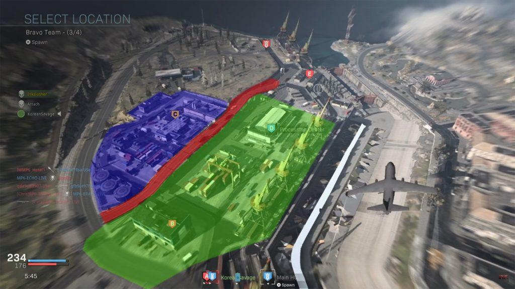 cod modern warfare port of verdansk teilung