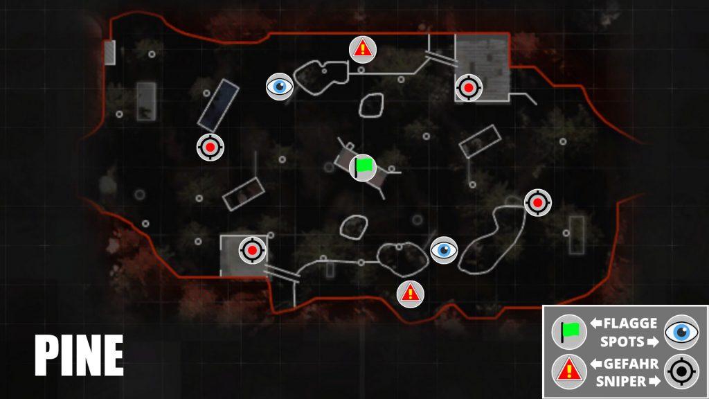 cod modern warfare map pine