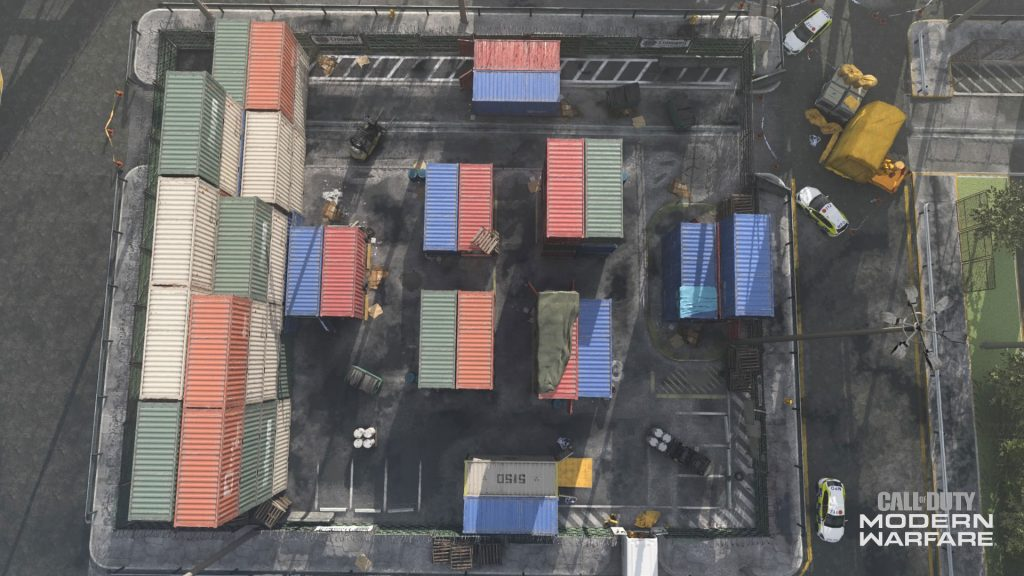 cod modern warfare shipment draufsicht