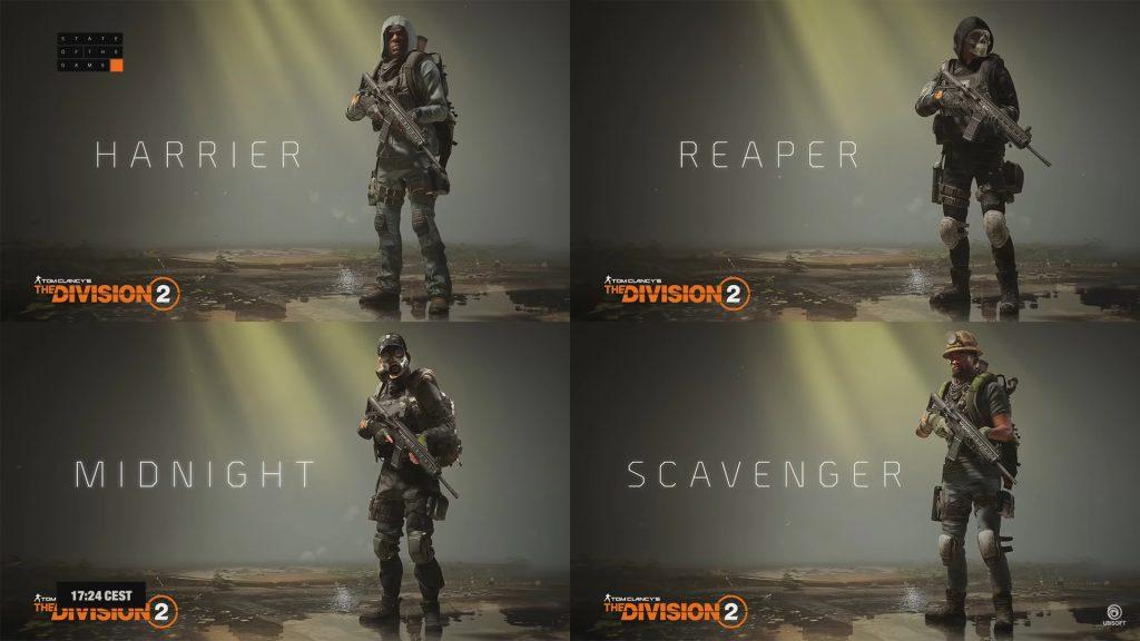 division 2 skins stille nacht