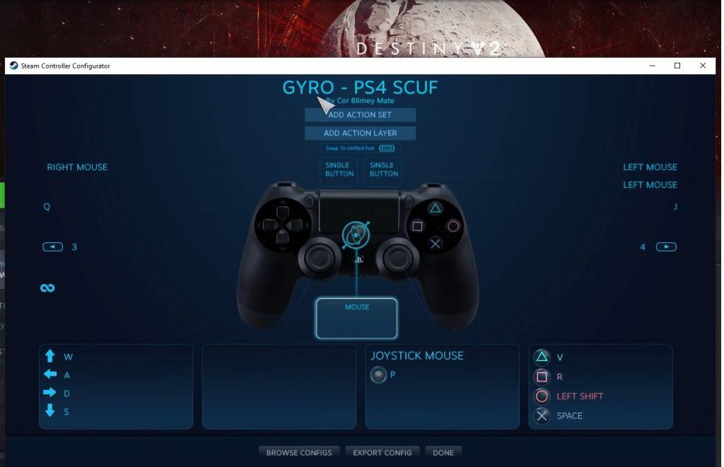 gyro aiming destiny stream