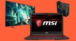 Saturn Weihnachtsmarkt: Top MSI Gaming-Notebook stark reduziert