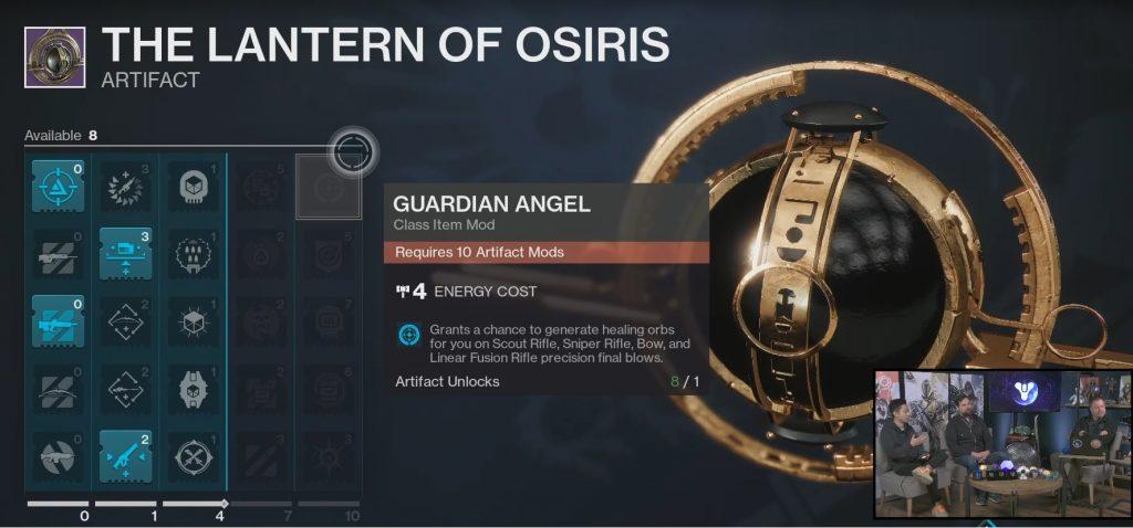 season artefact lantern osiris destiny