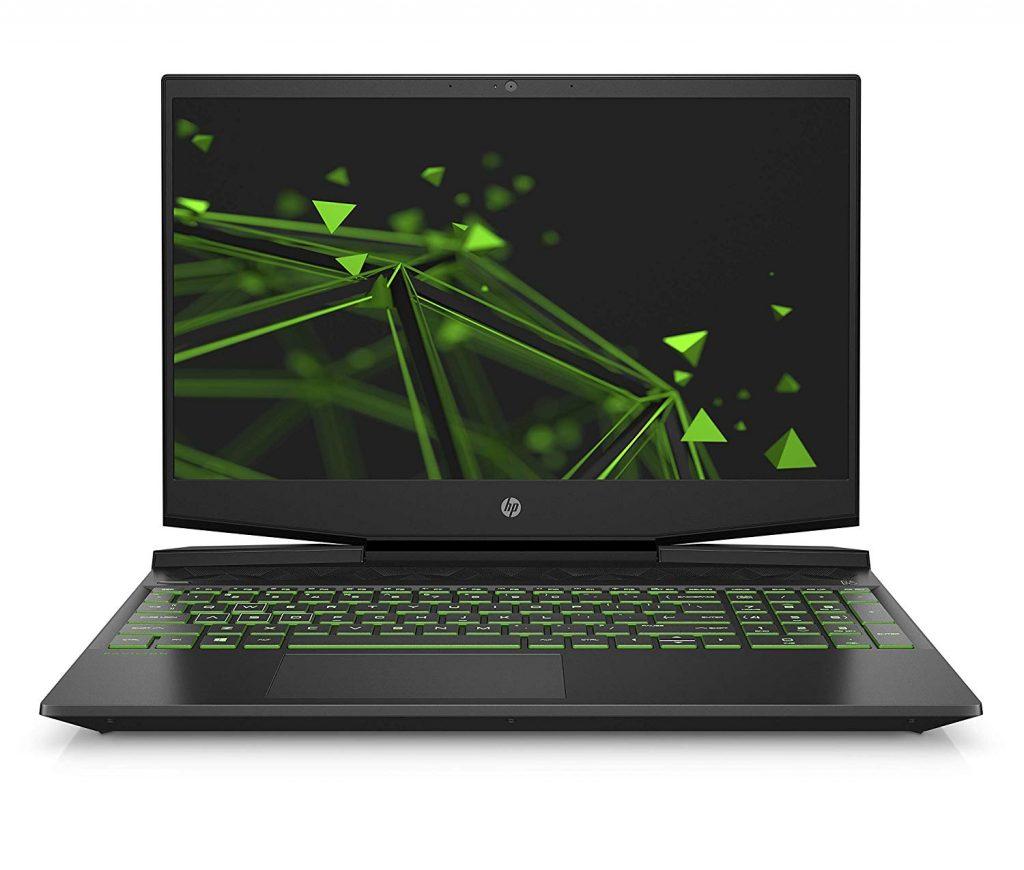 HP Pavilion Gaming 15-dk0009ng Frontansicht