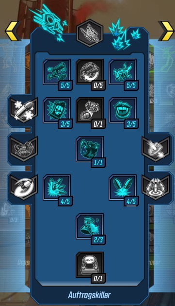 Borderlands 3 Zane Skills