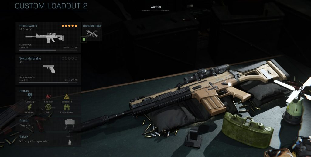 Call fo Duty Modern Warfare Scar DMR Build