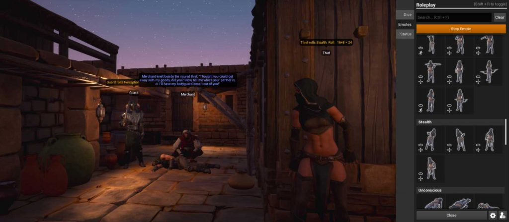 Conan Exiles Roleplay Dieb