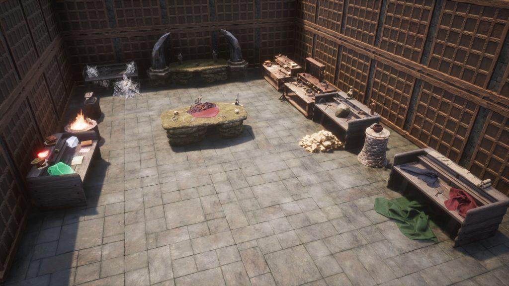 Conan Exiles Schatten von Skelos Werkbänke