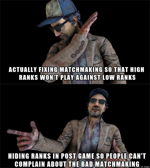 Dead by Daylight Meme Ace ranks