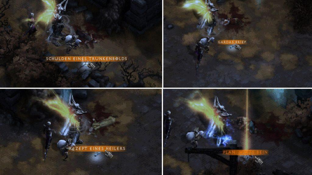 Diablo 3 Leichen Rezepte