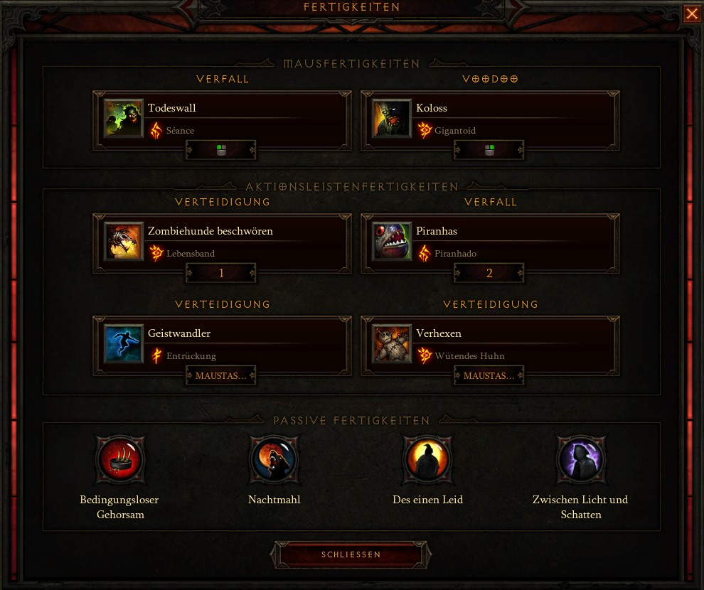 Diablo 3 Speed Chicken Build