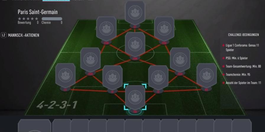 FIFA 20 PSG SBC