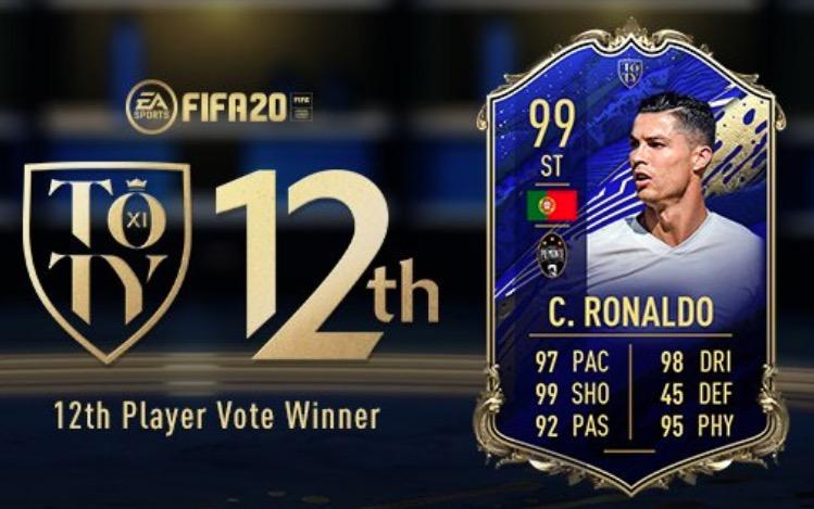 FIFA 20 TOTY Ronaldo