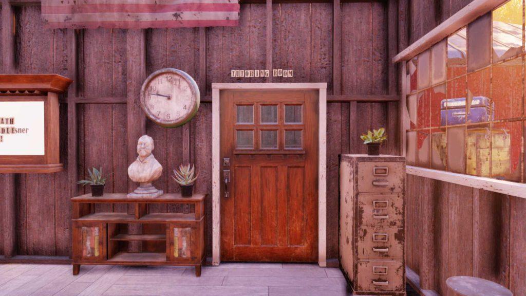Fallout 76 Mathe Camp Raum