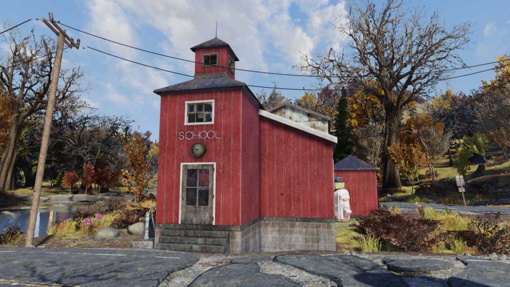 Fallout 76 Mathe Camp Schule 2