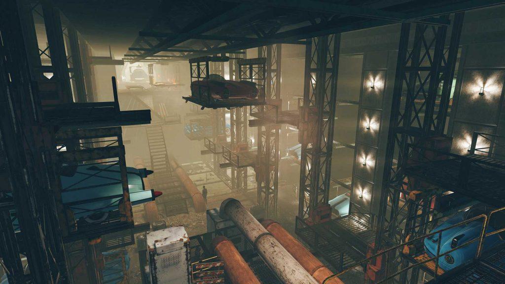Fallout 76 Wastelanders Screenshot Watoga Garage