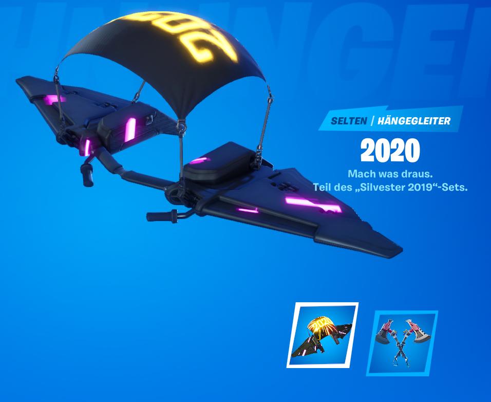 Fortnite Gleiter 2020
